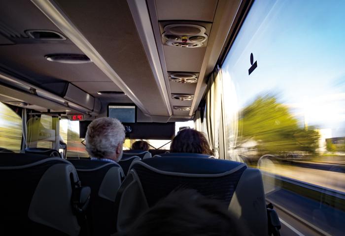 Autobuses con electricidad segura