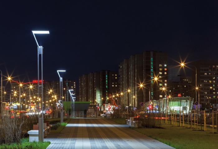 Iluminación adecuada para vialidades