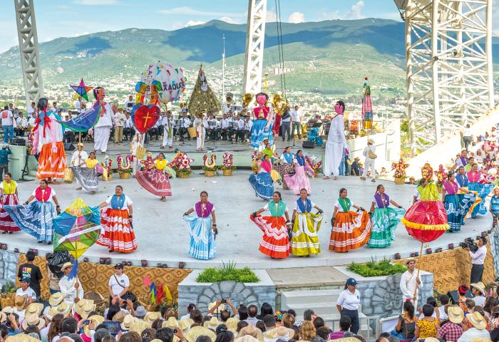 Guelaguetza, La máximo expresión cultural de Oaxaca