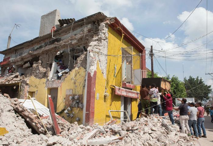 ¿Qué hacer en caso de terremotos?